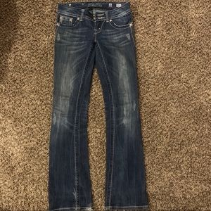 Angel wing Miss Me jeans
